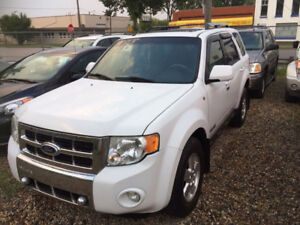 2008 FORD ESCAPE LIMITED AWD 7 MONTH WARRANTY