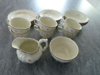 Collection of Royal Doulton Lambethware 'NORFOLK' pattern -23 items