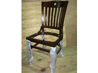 94 x NEW restaurant dining chairs. FRAMES ONLY