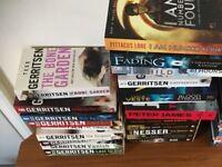 joblot of tess gerritsen books