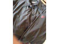 Original S OLIVIER Gun Metal Grey Casual Shirt Size L