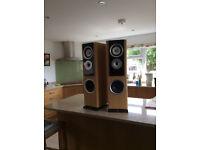 TDL floor standing speakers Nucleus KV6
