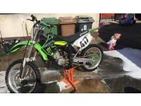 04 Kawasaki kx 125cc not long after full top and bottom end engine rebuild