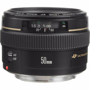 Canon EF 50mm 1.4 Lens - 95% New
