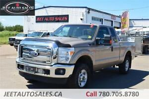 2012 Ford F-250 XLT 4x4 Super Cab 6.75 ft Box 6.2L Gas