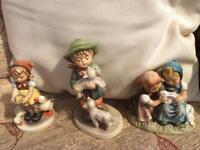 Three unusual Hummel figures