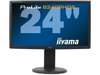 Iiyama B2409HDS-1 Monitor 24 inch 1080i/1080p TFT LCD