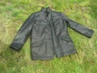 Mens leather jacket/coat