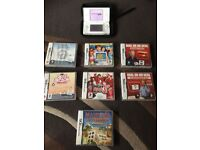 Ds lite white and games