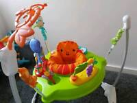 Fisher price rainforest forest jumperoo