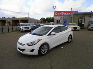 2013 HYUNDAI ELANTRA GL 4 CYL GAS SAVER CLEAN EASY CAR FINANCE