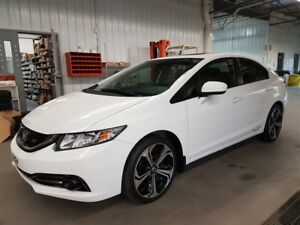 2014 Honda Civic Sedan Si BAS KILO GARANTIE PROLONGEE