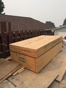 "Stack of 3/4"" Standard Plywood for sale"