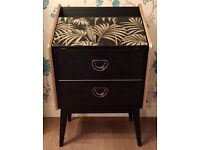 Upcycled Styles and Mealing Bureau. Black and Gold.