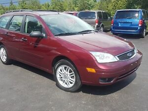 2007 Ford Focus wagon 139k NO RUST! safetied SE