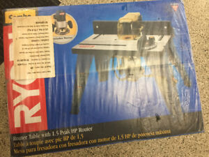 Router with table - NIB
