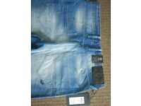 Jack & Jones boxy loose fit jeans. New tagged