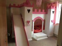 Princess castle bed