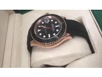 Rolex rose gold yatchmaster