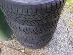 Kingstar Winter Tires and Rims - 195/65R15