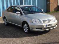 2005 Toyota AVENSIS t3-s 2.0 D-4D , mot - August 2018 , service history ,,passat,accord,focus,astra