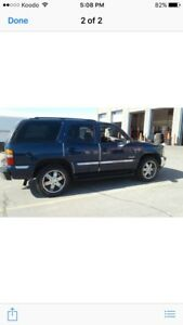 2001 SLT Yukon truck