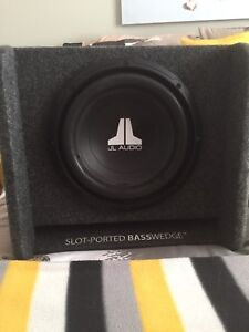 """12"""" car sub WITH amplifier"""