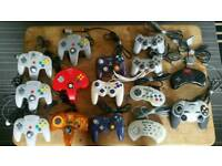 Games console controllers job lot