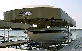 Wanted - Shorestation boat lift canopy - wanted