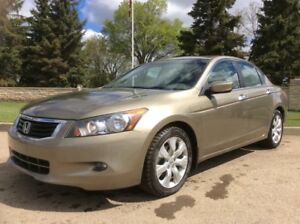 2008 Honda Accord, EXL-PKG, AUTO, LEATHER, ROOF, $9,700