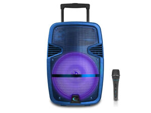 Speaker Portable Rechargeable PA System with Bluetooth & USB