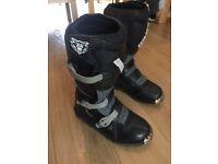 Wulf sport club racing boots