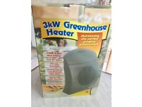 1.5kw/3.0kw electric greenhouse heater