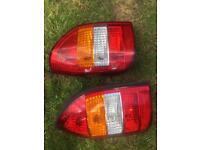Vauxhall zafira back lights