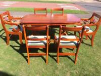 Dining Table and 6 Chairs, Boston Collection Good Quality