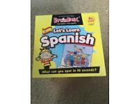 Spanish vocabulary cards