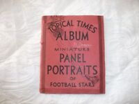 1930's football and cricket card albums