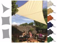 Kookaburra Shade Sail Water Resistant Sun Canopy Patio Awning Garden 96%UV Block