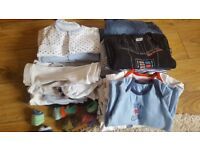 Baby boys clothes bundle 0-3 month