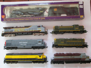 Locomotives - HO scale