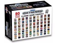 Sega Megadrive With 80 Built-In Games RRP £49.99