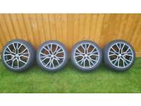"Alloy wheels 18"" like new"