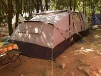 Family Tent Khyam Motordome Sleeper with Annexe