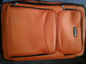 Tracker luggage  purchased at bently