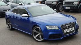 AUDI RS5 RS5 FSI QUATTRO SEPANG BLUE A STUNNING LOOKING VEHICLE HUGE OPTIONS LIST 2011