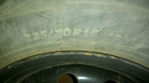 225/70r16 dodge journey rims and tires