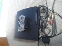 hi this 500gb ps3 has minor scratches and scuffs on the top of the console