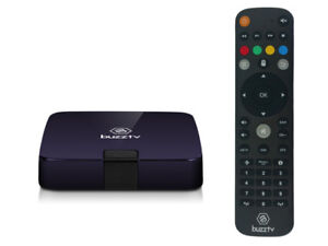 BUZZTV XPL 2000 ANDROID IPTV OTT SET-TOP HD 4K TV BOX