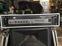 Ampeg B2R Rack Mounted Bass Amp Head in Spider Flight Case £175