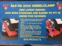 SAS HD2000 WHEEL CLAMP